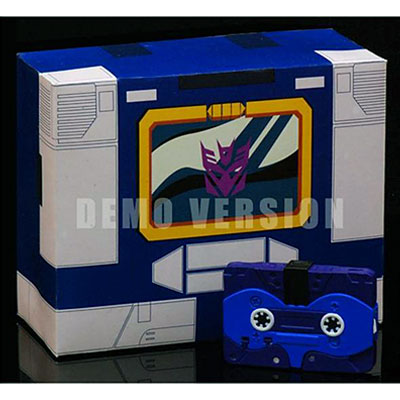 Transformers iGear Autoscout Cassette Set Blue Version