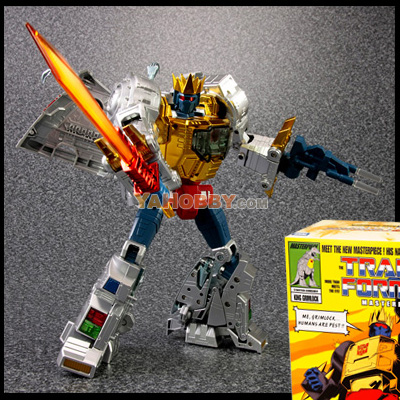 Takara Tomy Transformers G1 Masterpiece Dinobot King Grimlock MP-08X