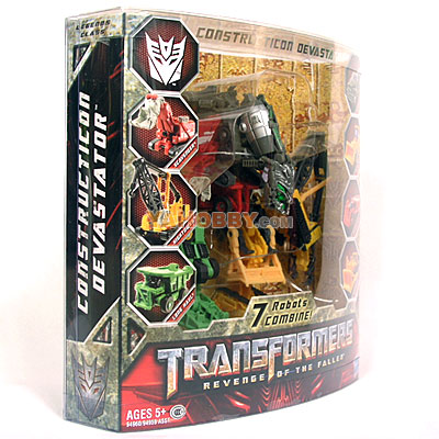 Hasbro Transformers 2009 Movie 2 Legends Devastator Gift Set