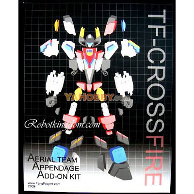 Transformers Superion Aerial Team Appendage Add-On Kit