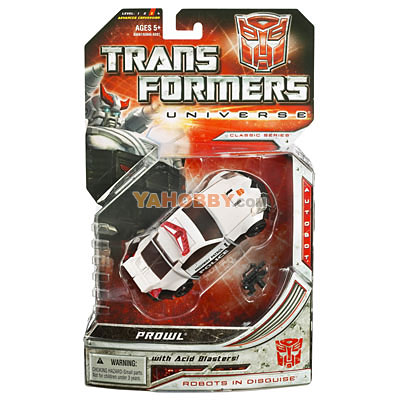 Transformers Universe Deluxe - Wave 01 - Prowl