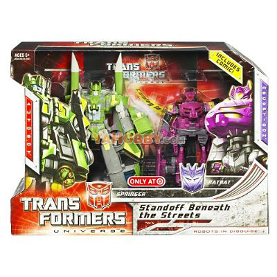 Transformers Standoff Beneath The Street Springer Ratbat