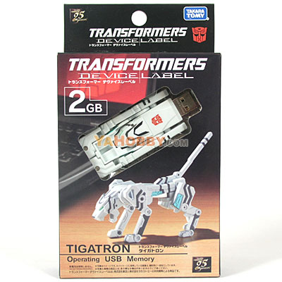 Transforemrs Device Label USB Flash Memory (2 GB) Tigatron