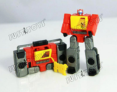 Transformers WST Autobot Blaster - Communications Liaison