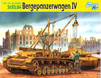1:35 Dragon SdKfz 164 Bergepanzerwagen IV  Smart Kit 6438
