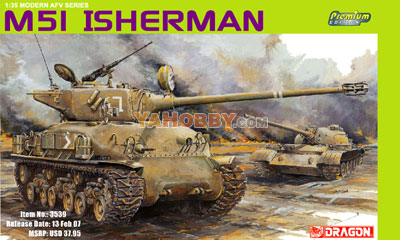 1:35 Dragon M51 ISherman Premium Edition 3539