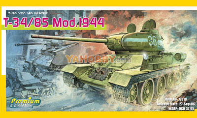 1:35 Dragon T34/85 Mod. 1944 Premium Edition 6319