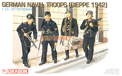 1:35 Dragon German Naval Troops Dieppe 1942 6087