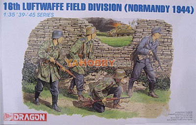 1:35 Dragon 16th Luftwaffe Field Division Normandy 1944 6084