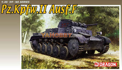 1:35 Dragon Tank Model Kits Pz.Kpfw.II Ausf.F 6263