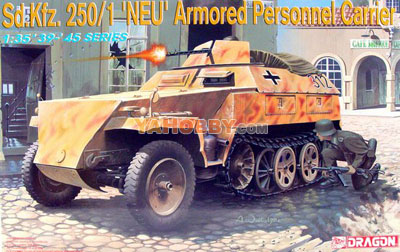 1:35 Dragon Sd.Kfz. 250/1 NEU Armored Personnel Carrier 6100