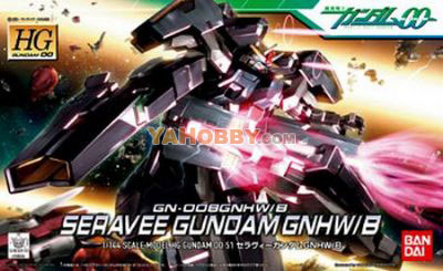 Gundam 00 High Grade 1/144 Model Kit HG Seravee Gundam GNHW/B