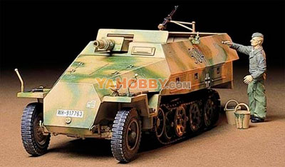 1:35 Tamiya Model Kit Mtl.Spw Sd.Kfz.251 Kanonenwagen 35147