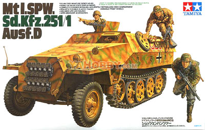 1:35 Tamiya Model Kit Mtl. SPW Sd.Kfz251/1 Ausf.D 35195