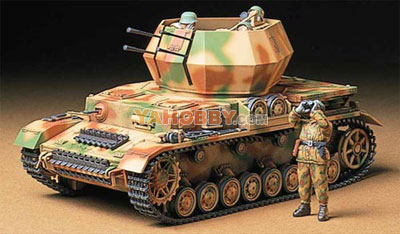1:35 Tamiya Model Kit German Flakpanzer IV Wirbelwind 35233