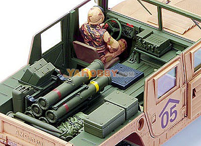 1:35 Tamiya Model Kit M1046 Humvee Tow Missle Carrier 35267
