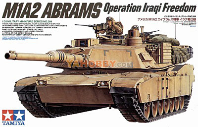 1:35 Tamiya Model Kit M1A2 Abrams Operation Iraqi Freedom35269