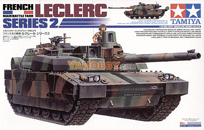 1:35 Tamiya Model Kit French Leclerc 2 Main Battle Tank 35279