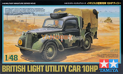 1:48 Tamiya Model Kit British Light Utility Car 10Hp 32562