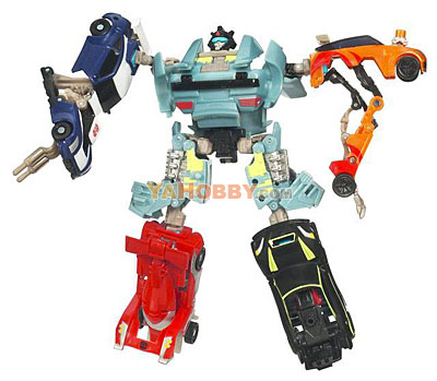 Transformers 2010 Combiner 5-Packs Series 02 Rallybots