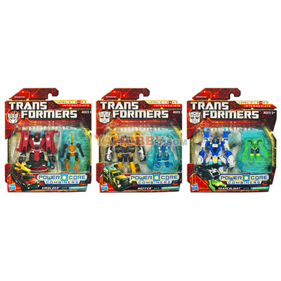 Transformers 2010 Commander 2-Packs Series 01 Set of 3