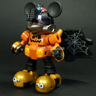 Disney Label Mickey Mouse Transformers Exclusive Halloween