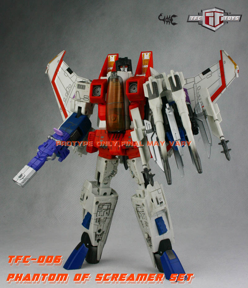 Transformers Masterpiece Starscream MP-03 Upgrade Kit TFC-006A