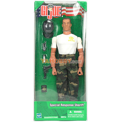 Hasbro GI JOE 12 Inch Action Fiture Special Response Sheriff