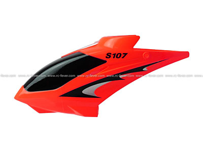 Syma RC Helicopter S107 Spare Parts Canopy 01 red