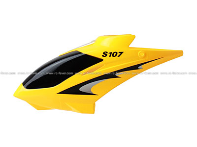 Syma RC Helicopter S107 Spare Parts Canopy 01 Yellow
