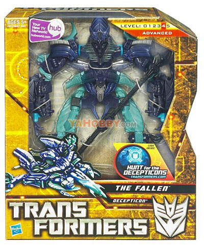 Transformers 2010 Movie 2 ROTF Voyager The Fallen with Staff