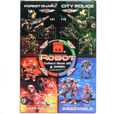 ENLIGHTEN Building Blocks Bricks Robot CITY POLICE 118