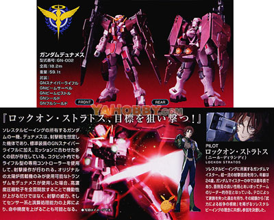 Gundam High Grade  1/144 Model Kit Gundam Dynames Trans-Am Mode