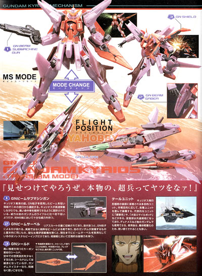 Gundam High Grade 1/144 Model Kit Gundam Kyrios Trans-Am Mode