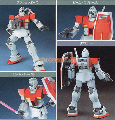 Gundam HGUC 1/144 Model Kit RGM-79 GM