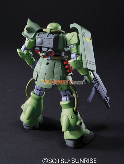 Gundam HGUC 1/144 Model Kit MS-06FZ Zaku II FZ