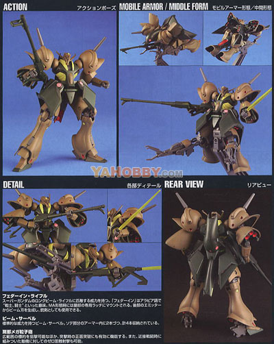Gundam HGUC 1/144 Model Kit RX-110 Gabthley