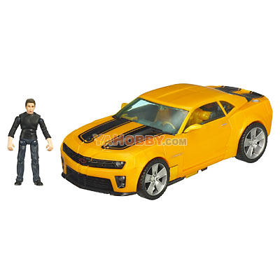Transformers 2009 Movie 2 ROTF Human Alliance Bumblebee with Sam Witwicky