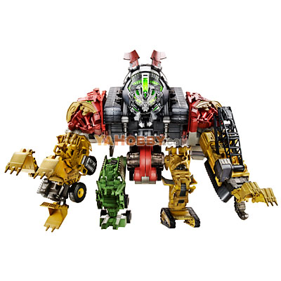 Transformers 2009 Movie 2 ROTF Devastator Combiner Set