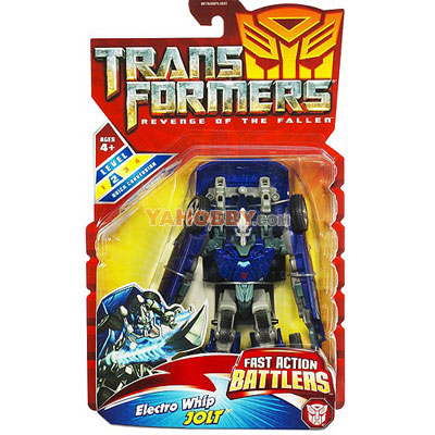 Transformers 2009 Movie 2 ROTF Electro Whip Jolt