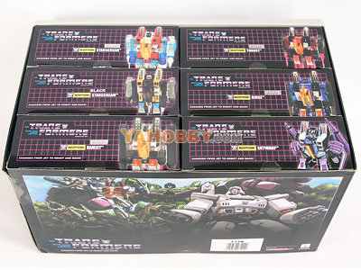 Transformers G1 Mini Seekers Gift Set Starscream Lots