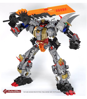 Transformers PC-23 Perfect Effect Perfect Combiner POTP Dinobots Volcanicus Add on Set
