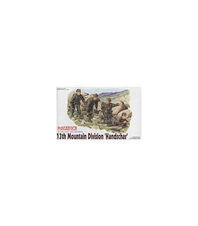 1:35 Dragon 10th Mountain Division Handschar Figure Set 6067
