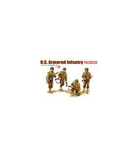 1:35 Dragon US Armored Infantry (4 Figures Set) Gen 2 6366