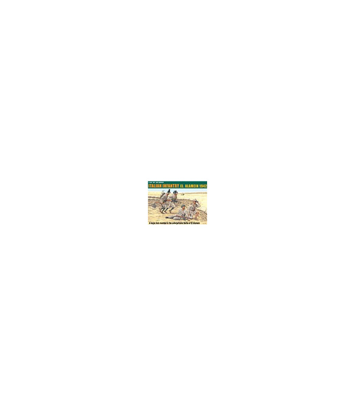 1:35 Dragon Italian Infantry El Alamein 1942 4 Figures Set 6391