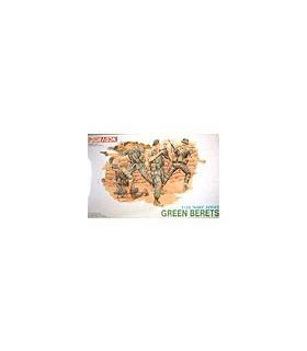 1:35 Dragon Military Model Kit Green Berets Figure Set 3309