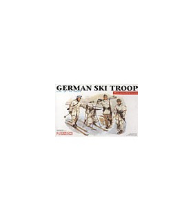 1:35 Dragon Military Model Kit German Ski Troops 6039