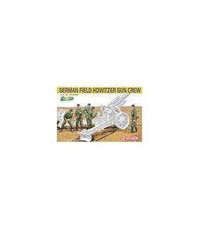 1:35 Dragon German Field Howitzer Gun Crew 6461