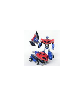 Transformers Animated Voyager Optimus Prime Earth Mode Loose