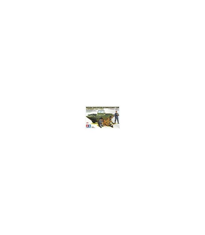 1:35 Tamiya Russian Tank Div Recon Team w/ Amphibian 89771
